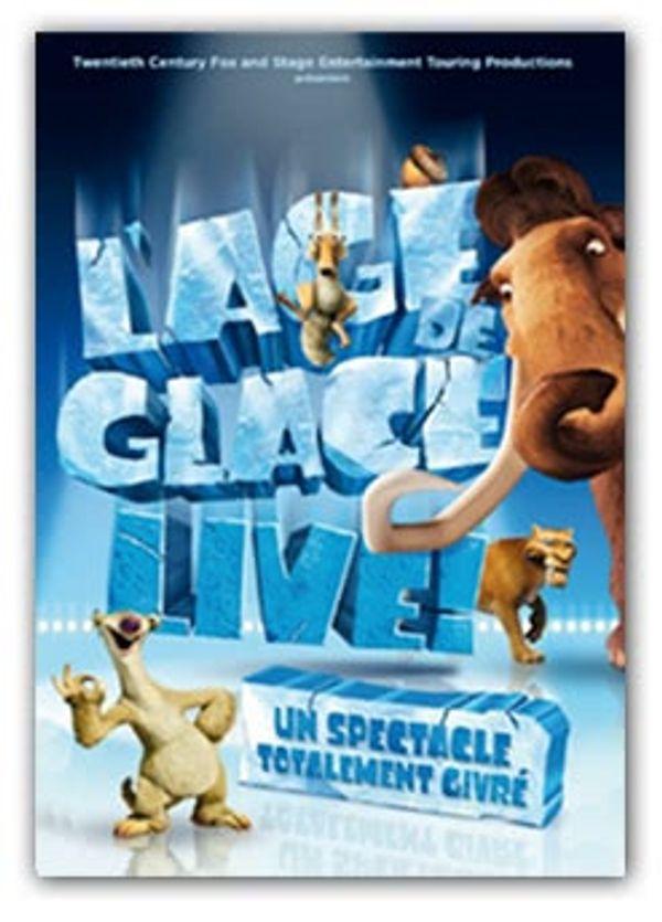 L'Age de Glace Live: un show vraiment givré!! :)