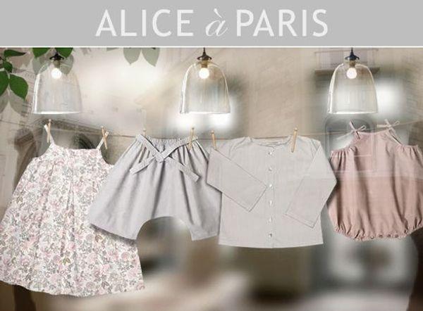 Coup de coeur pour la boutique Alice à Paris !!