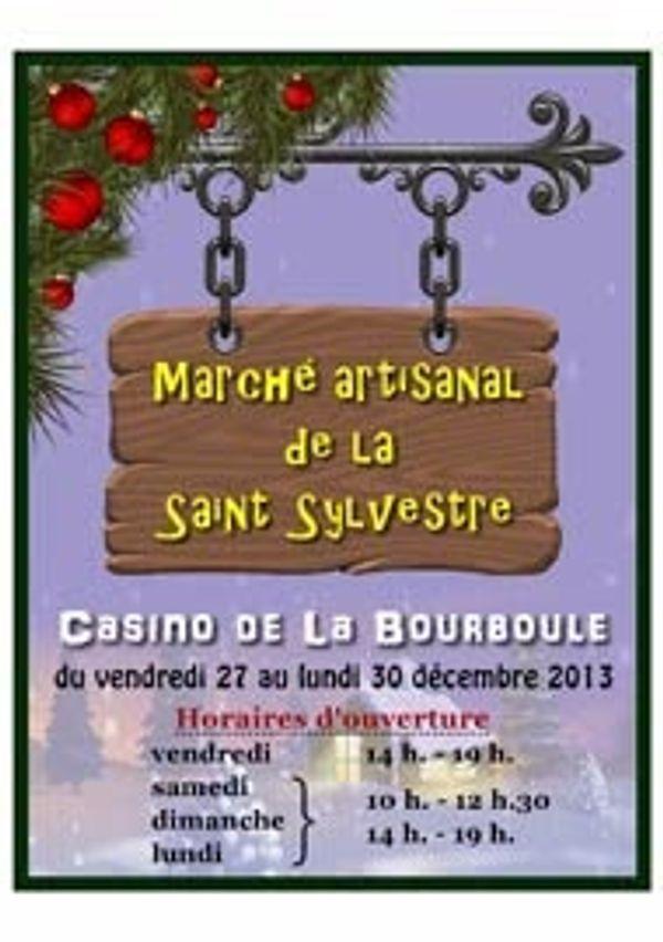 ** Marché de la Saint-Sylvestre **