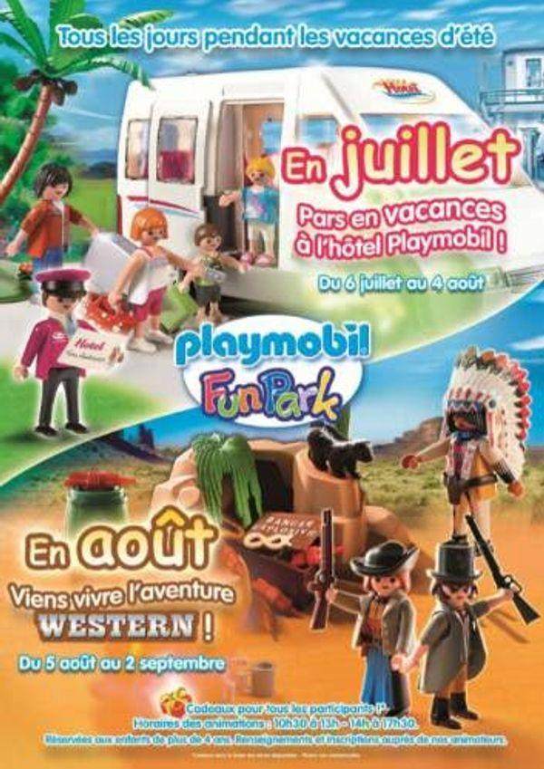Entrées Gratuite Playmobil FunPark +animations