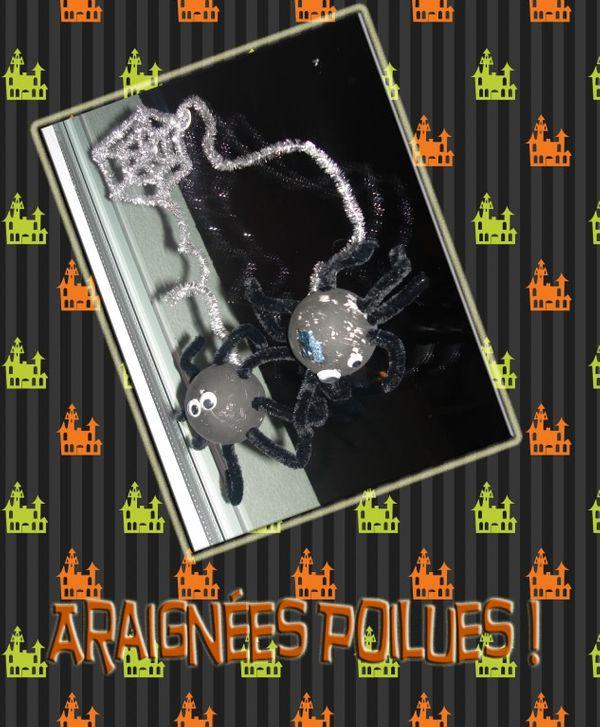 Araignées Poilues - Atelier pour petites mains