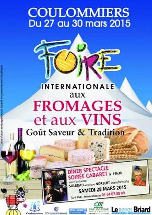 Foire aux fromages et aux vins de Coulommiers 2015