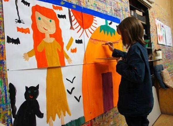 Mini-stage et stage de peinture de printemps à L'Atelier de Charenton