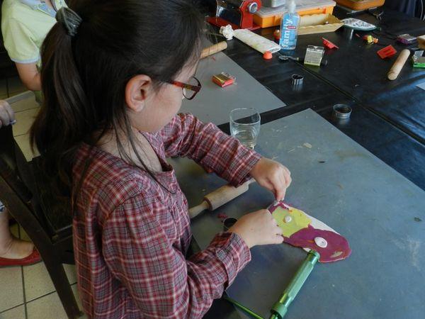 Atelier Fimo avec Véronique REVERDY à La Cabane Créative à Marsac sur isle