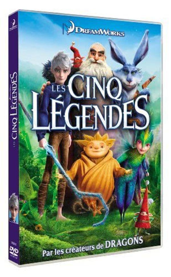 Les Cinq Légendes en DVD...Ou comment retomber en enfance!!