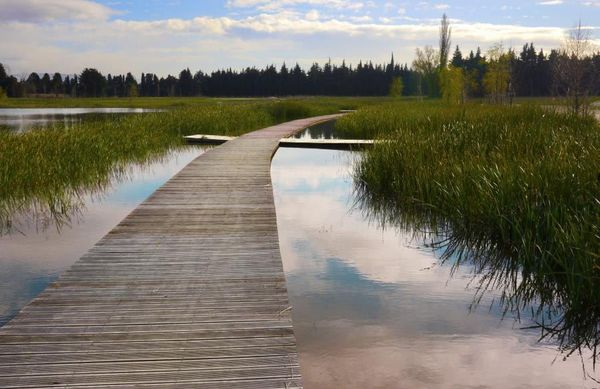 Nouveau lac de Monteux