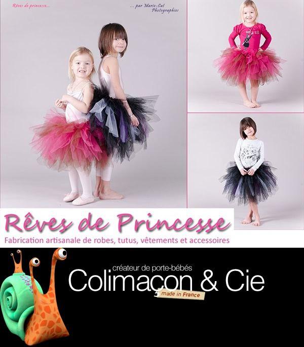 Rêves de Princesse et Colimaçon et Cie + Concours Robe et Echarpe de portage à gagner