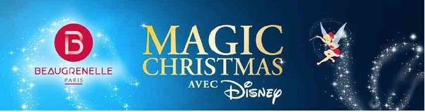 Noël sera magique avec Disney à Beaugrenelle + concours shopping