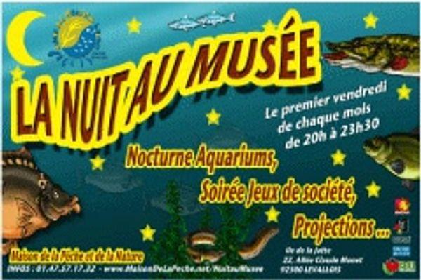 La nuit au Musée Aquarium de Levallois-Perret, trop sympa!