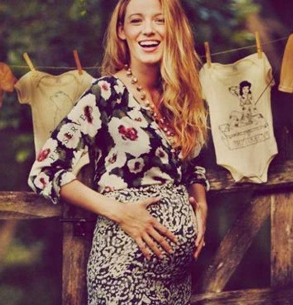 La baby shower trop fashion de Blake Lively