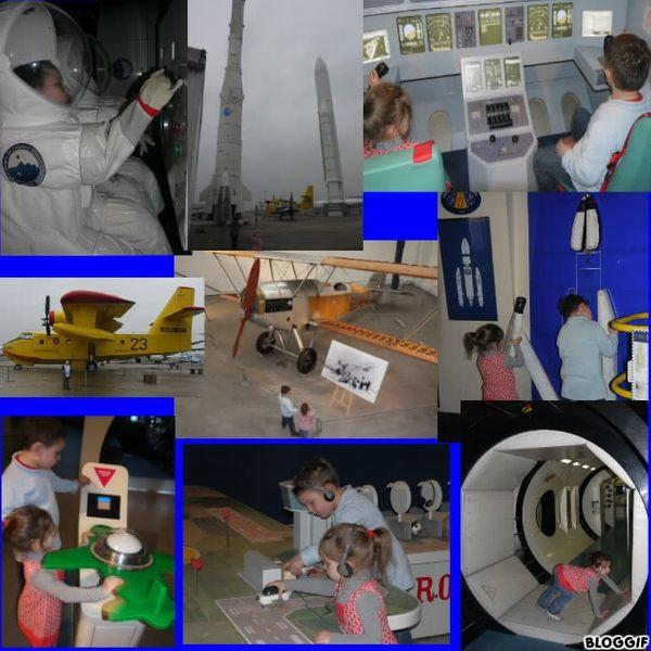 Notre visite au musée de l'air et de l'espace :) + Planète pilote :)