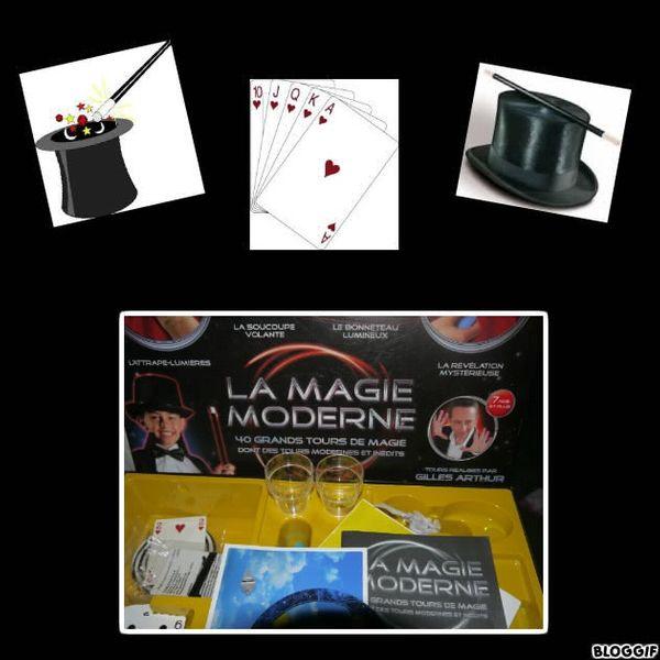 Il y a les boites de magie et il y a LA MAGIE MODERNE de Clementoni + 1 à offrir