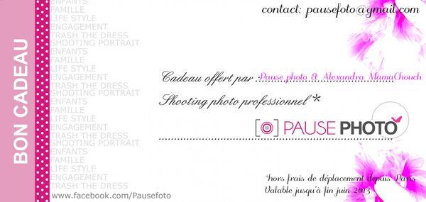 Enfin le résultat de la sublime séance PHOTO avec  PausePhoto !!!