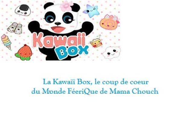 Kawaïï ... c'est trop Mignon avec la KAWAÏÏ BOX <3