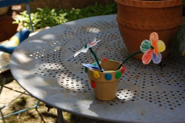Fabriquer un bouquet de fleurs en papier pour la fête des mères