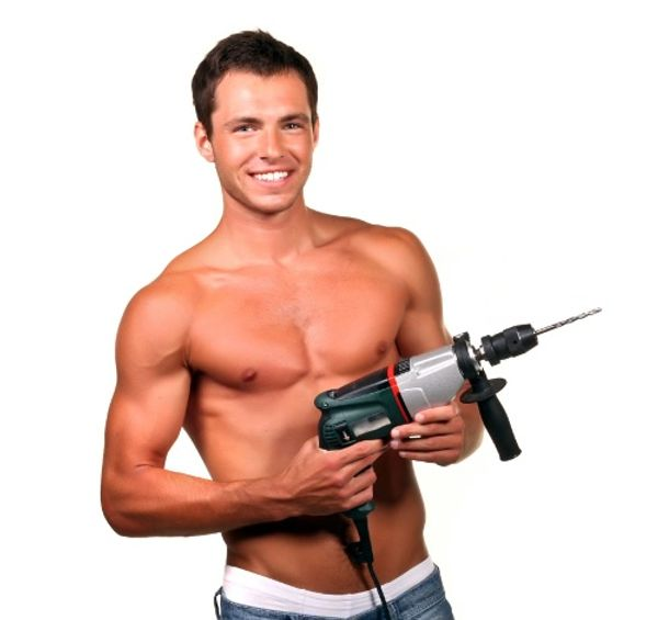 Bricoler rend les hommes sexy