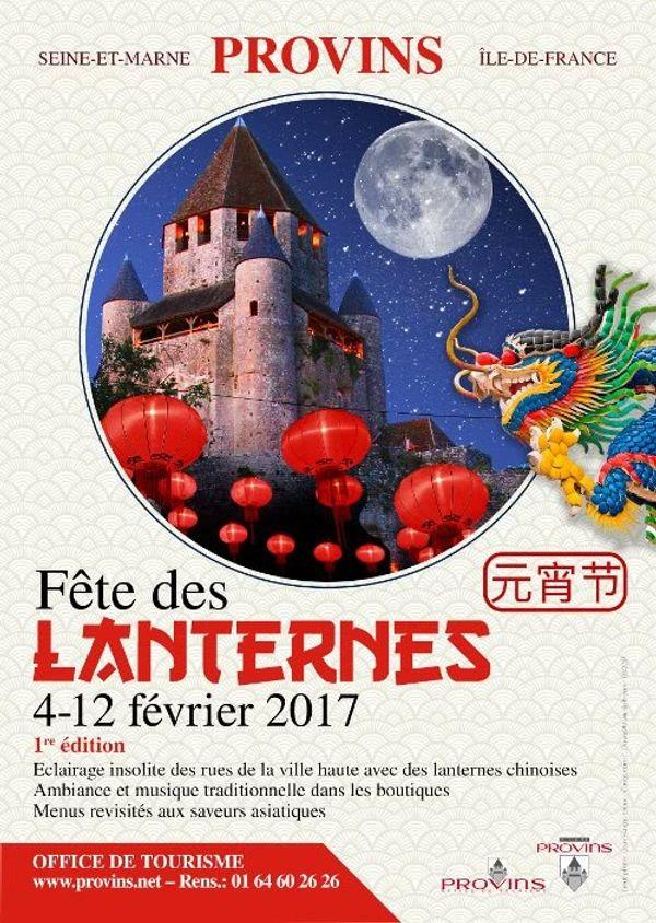 Provins fête des lanternes