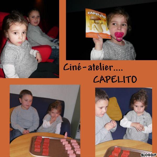 Ciné-atelier (pâte à modeler) spécial CAPELITO :)
