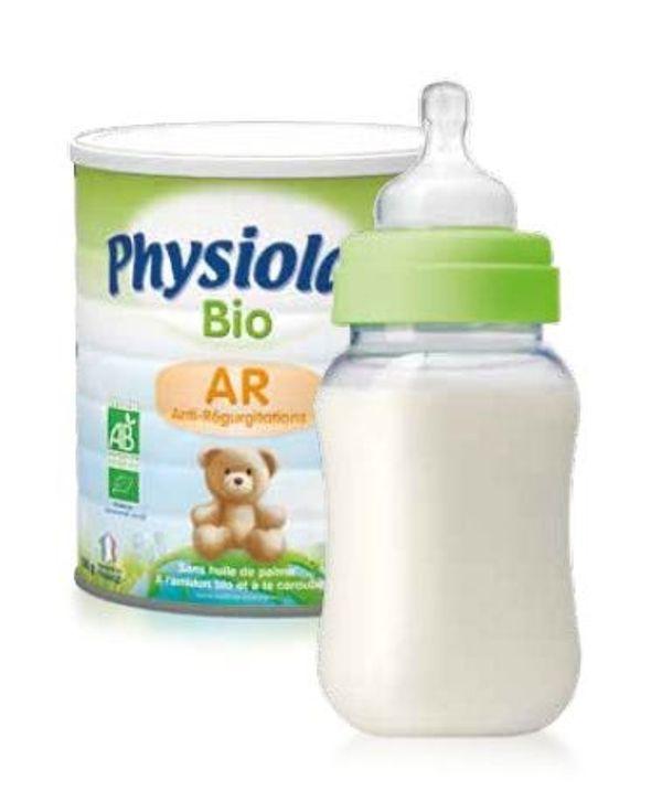 Nouveau lait AR et Bio chez Physiolac
