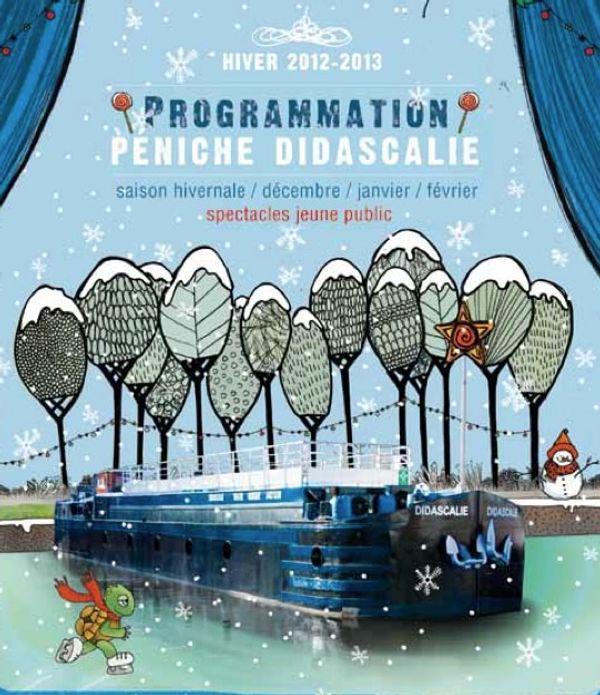 Didascalie: Péniche spectacle pour Enfants TOULOUSE/Ramonville