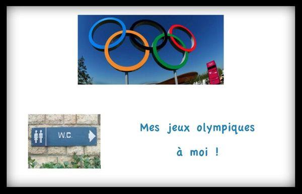 Moi aussi j'ai fait mon épreuve des Jeux Olympiques !!!