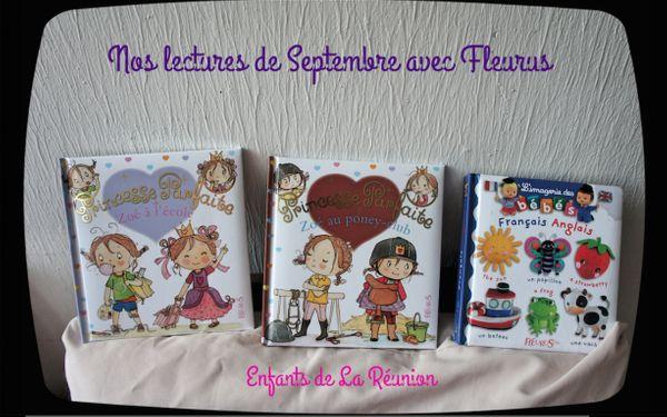 Nos lectures de Septembre avec Fleurus
