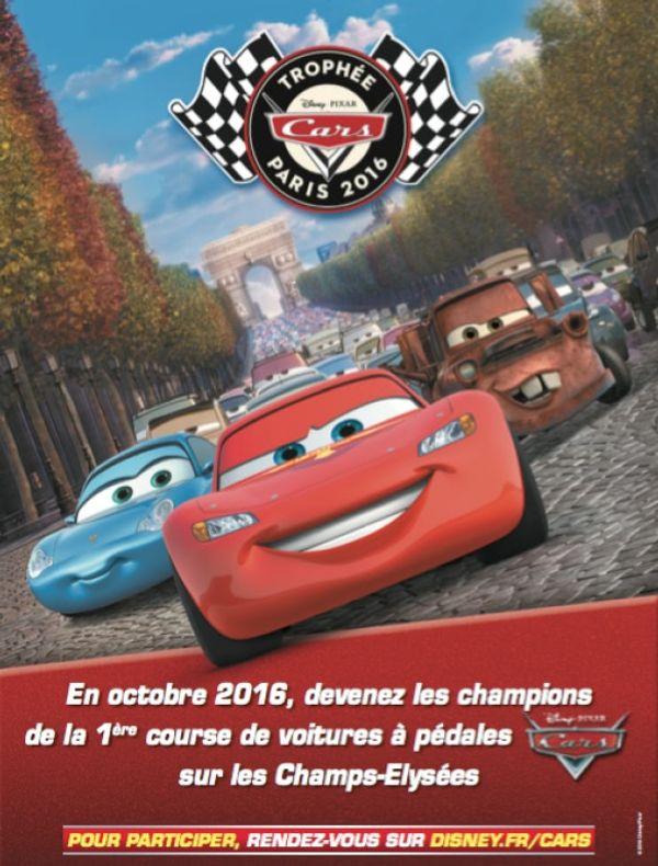 Disney News: Petits pilotes, préparez vous pour le Trophée Cars!!