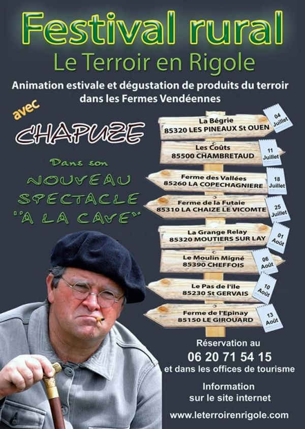 Festival Rural spectacle de CHAPUZE