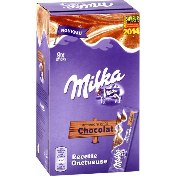 Dosette chocolat #Milka