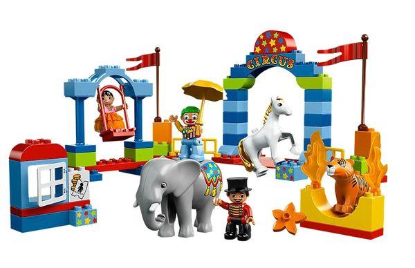 Le gagnant du grand cirque LEGO DUPLO