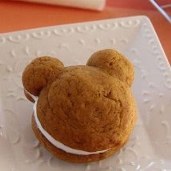 recette Les mini-tartes à la citrouille de Mickey