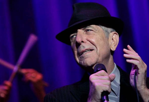 VIDEO: Pour l'amour ... Leonard Cohen - Dance me to the end of love