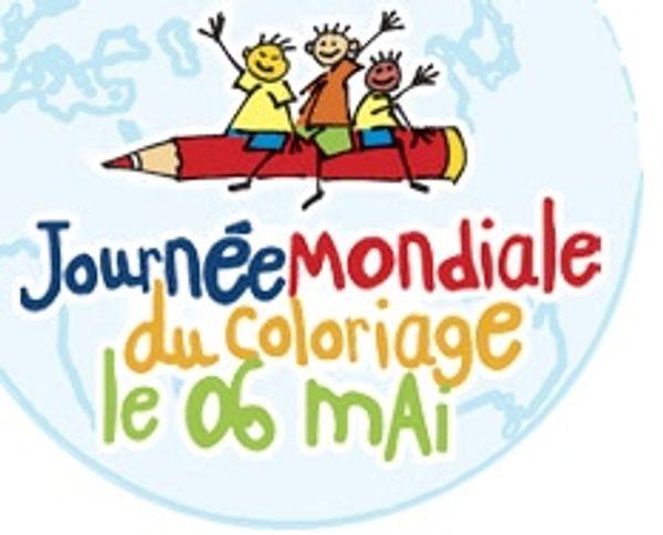 6 Mai Journée Mondiale du Coloriage !!!