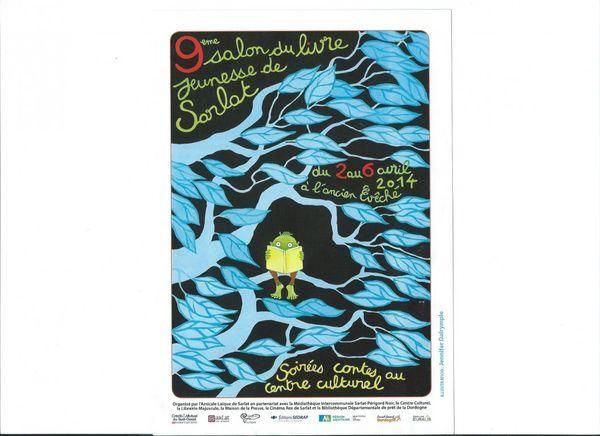 9ème salon du livre jeunesse de Sarlat 2 au 6 avril 2014