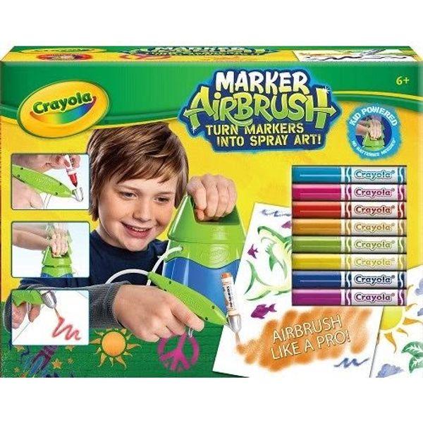 Marker Airbrush de Crayola pour graffeurs en herbe + 1 à gagner
