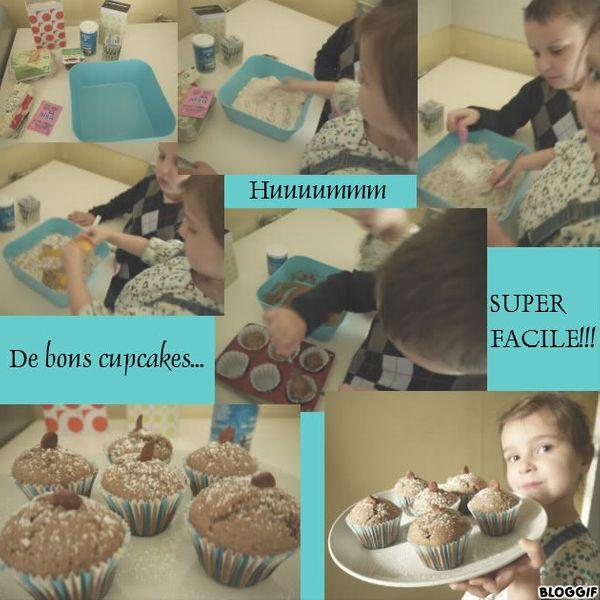 Avis aux gourmandes...la recette facile de nos cupcakes!!