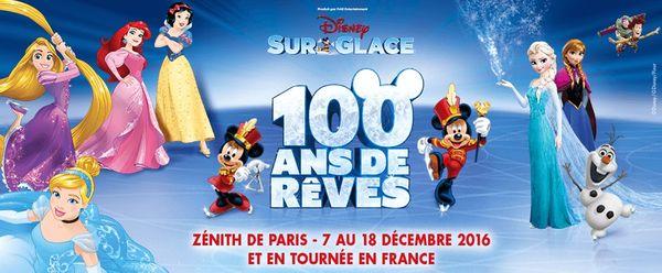 Bon plan Disney Sur Glace 100 ans de rêves + révélations