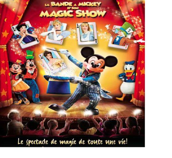 (Cadeau dedans) La bande à Mickey débarque à Bordeaux, un beau spectacle de magie le dimanche 24 février 2013 à la patinoire de Mériadeck!