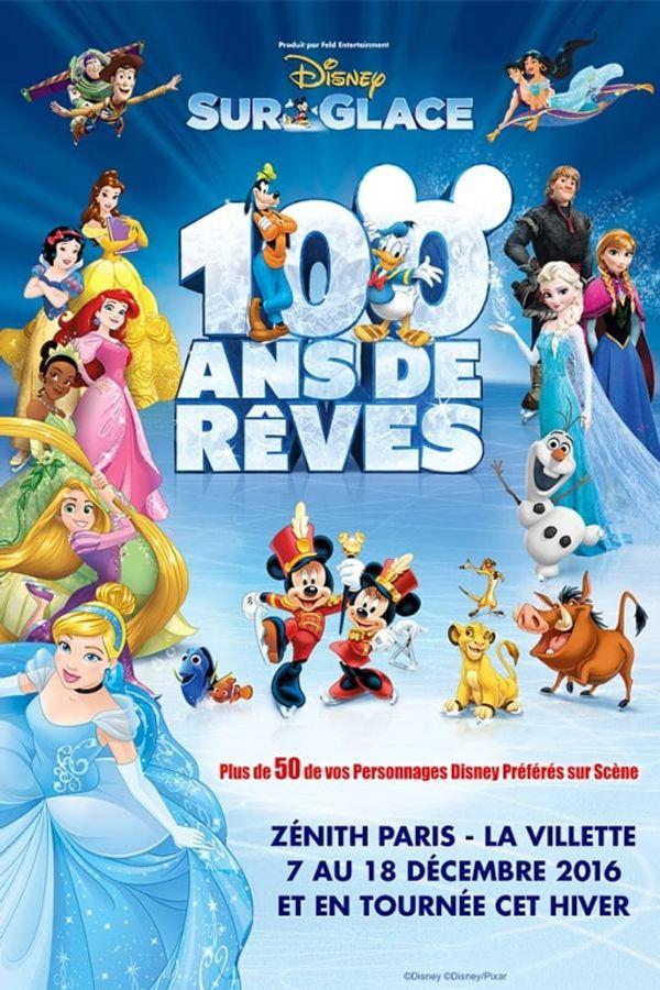 Disney sur Glace: 100 ans de rêves et 120mn de pur bonheur!