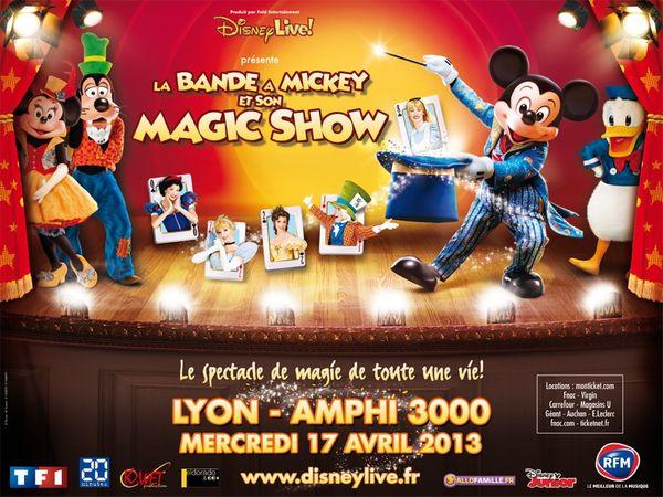 Disney Live Tour à Lyon !