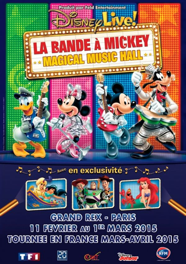 BON PLAN: La bande à Mickey - Magical Music Hall à petit prix!