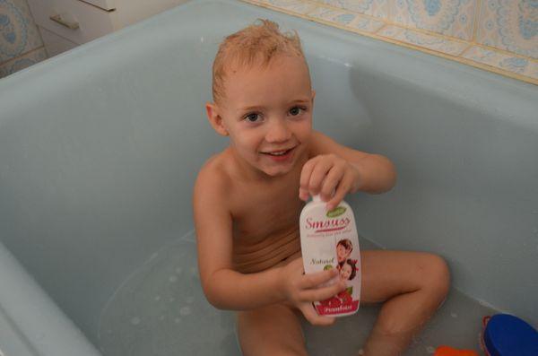 Un shampooing doux, bio et hummmmm