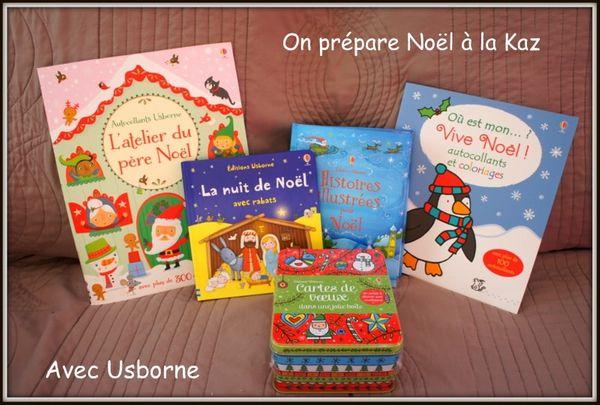 On prépare Noël avec Usborne