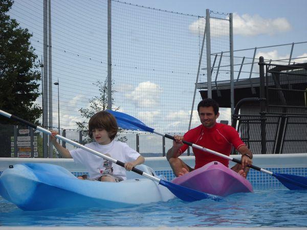 Le Kayak...