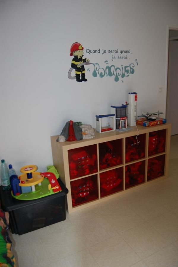 Chambre de Tom 4 ans : Avant/Aprés .....