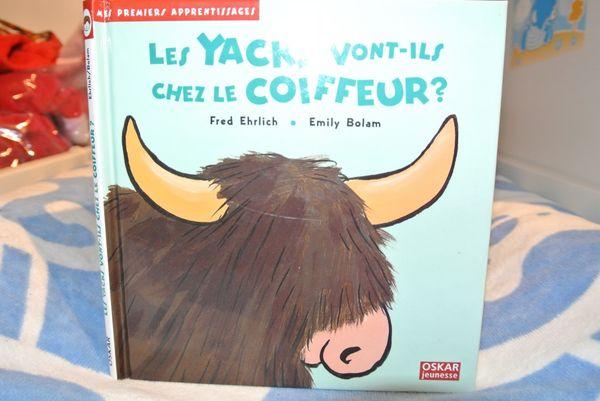 Livre Les Yacks vont-ils chez le coiffeur ? Editions Oskar Jeunesse