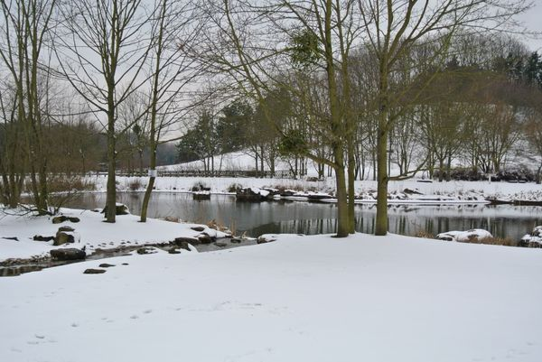 Le parc Georges Valbon de La Courneuve