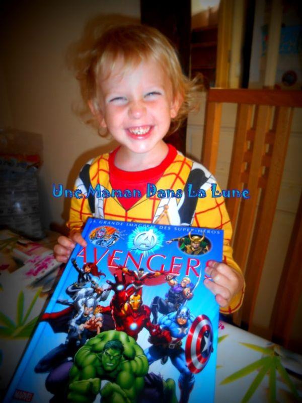La Grande Imagerie Fleurus des Super-héros : Avengers (découverte + cadeau)