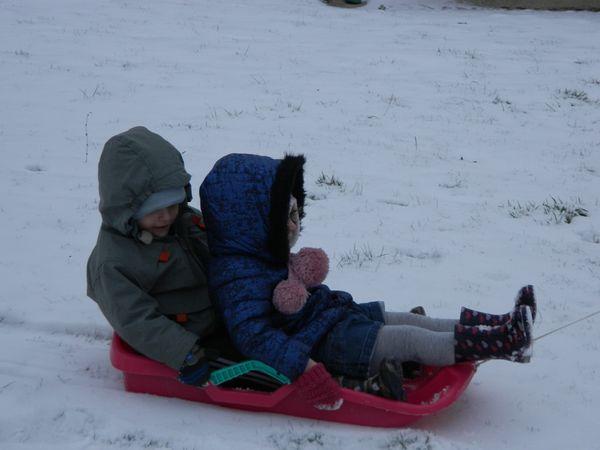 Aujourd'hui, neige au rdv!!!!