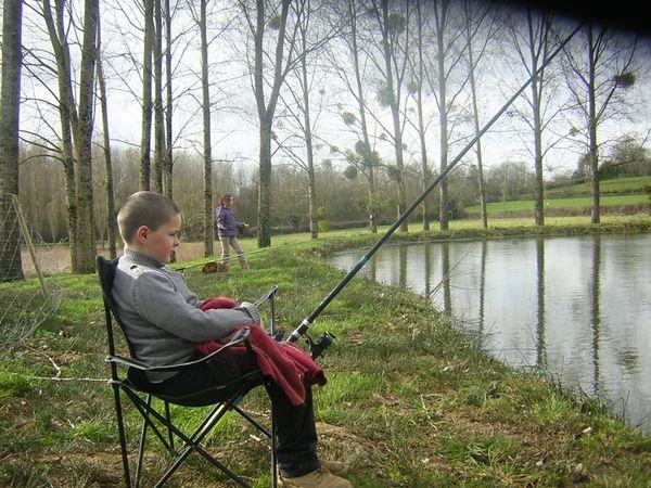 Ateliers de pêche pour enfants